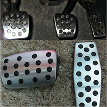 09-15 Cruze sedan hatchback Stainless Steel Footrest Pedal automatic manual style auto accessories(China)