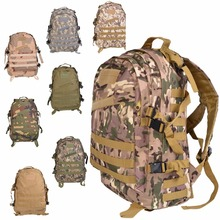 20pcs New Unisex Sports Outdoors Molle 3d Military Tactical Backpack Rucksack Bag Camping Traveling Hiking Trekking(China)