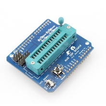 Elecrow AVR ISP Shield for Arduino Board Used to Download Bootloader Burning ATmega328P AVR ISP Programmer DIY Kit(China)