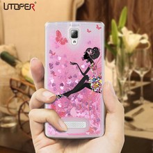 Buy UTOPER Phone Cases Lenovo Vibe A2010 Case Silicone Cover Lenovo 2010 Capa Glitter Case Lenovo A2010 Luxury Liquid for $3.59 in AliExpress store