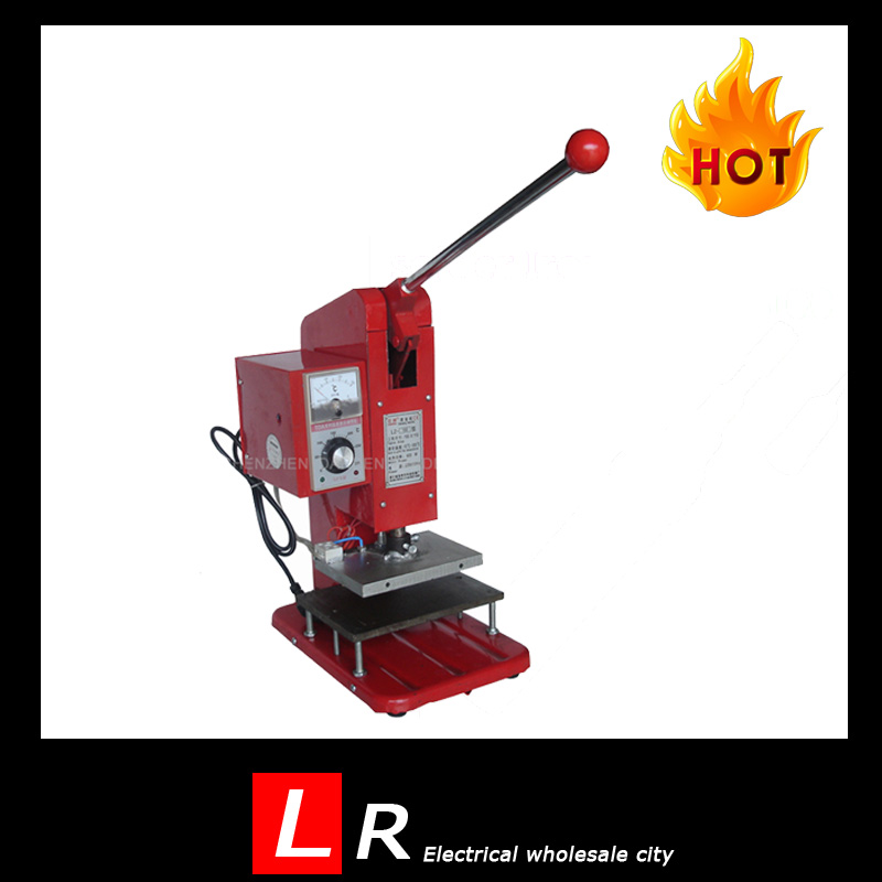 Mini 150 Manual Operating Hot Foil Stamping Machine Tipper Machine in Red Color<br><br>Aliexpress