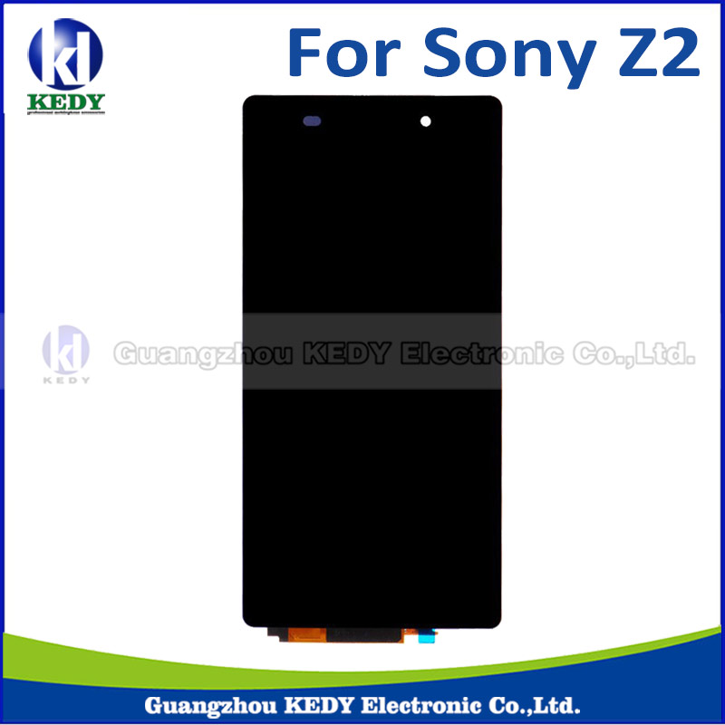 1pcs Origianl For Sony Xperia Z2 L50W D6502 D6503 LCD Touch Screen Digitizer assembly phone<br><br>Aliexpress