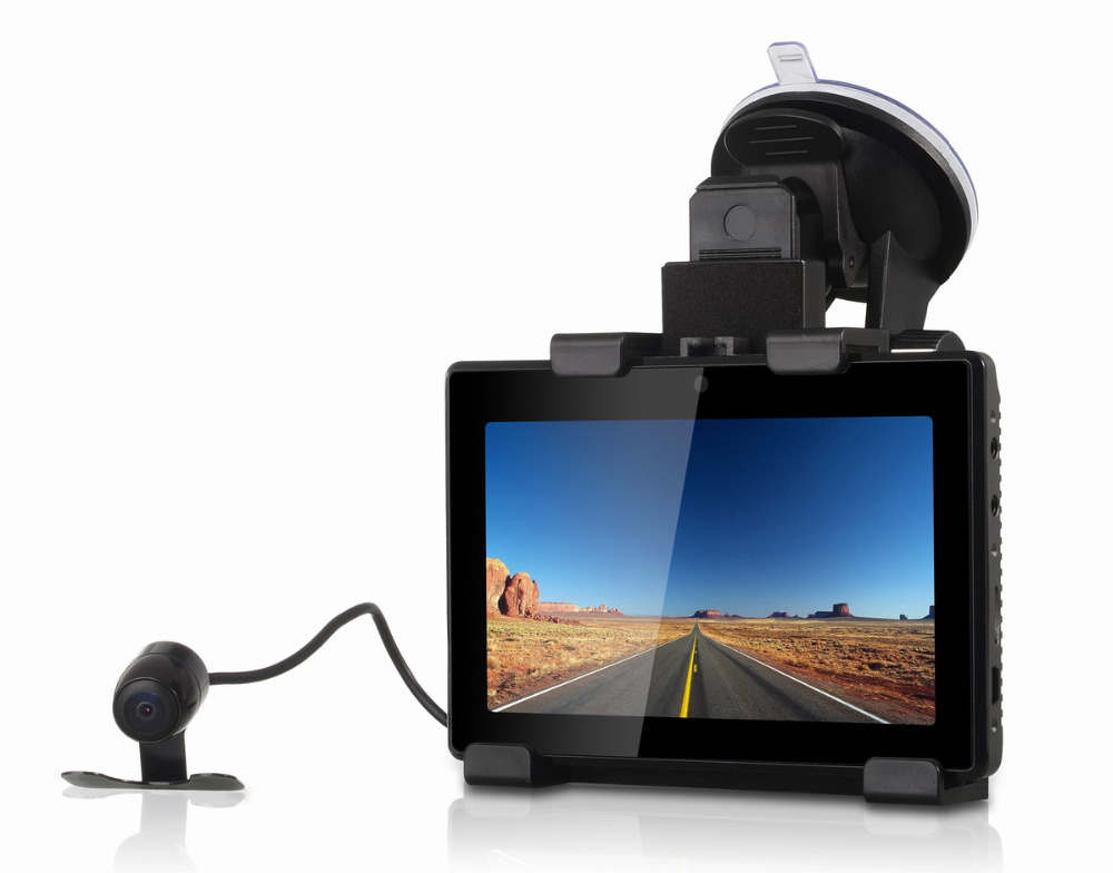 3 IN 1 Dual Lens Car DVR Camera Tablet GD001 Car Dash Cam with HD 1080P &amp; 5 Touch Screen + GPS Navigation + Android Tablet<br><br>Aliexpress