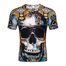 New Fashion Brand T-shirt Hip Hop 3d Print Skulls Harajuku Animation 3d T shirt Summer Cool Tees Tops Brand Clothing(China)