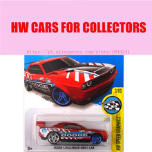 Hot Sale Hot Wheels 1:64 2016 Red dodge challenger drift Muscle cars Models Diecast Car Collection Toys Vehicle Collection(China)