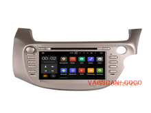 Quad Core Car DVD Player Radio + WIFI GPS Map For Honda Fit RHD 2007-2013 Car gps navigation system