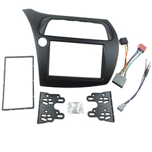 for Honda Civic Radio DVD Double Din Fascia Stereo Panel Dash Installation Trim Kit Face Frame with Wire Harness Antenna(China)
