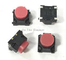 Taiwan DIP round 6*6*5 patch switch, silent silicone switch, 4 feet conductive adhesive touch button(China)