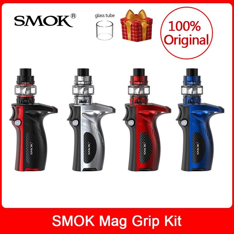 Original SMOK Mag Grip Kit 100W+TFV8 Baby V2 Tank 5ml+S1/S2 Coil Electronic Cigarette smok mag grip mod Kit VS x priv/g priv 2