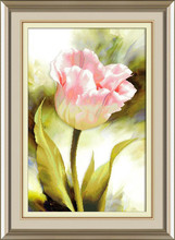 Needlework,DMC DIY Cross stitch,Embroidery kit set,Tulip Flower Cross-Stitch decoration painting wall decor Wholesale(China)