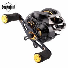 SeaKnight LYCAN Baitcasting Fishing Reel 205g 12BB 7.0:1 5KG Fishing Reels Bait casting Reel Magnetic Systems Water Drop Wheel