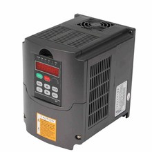 4KW VFD VARIABLE FREQUENCY DRIVE INVERTER AVR TECHNIQUE PERFECT MOTOR LOAD CAPABILIITY CALCULOUS PID 10A 220-250V HY INVERTERS