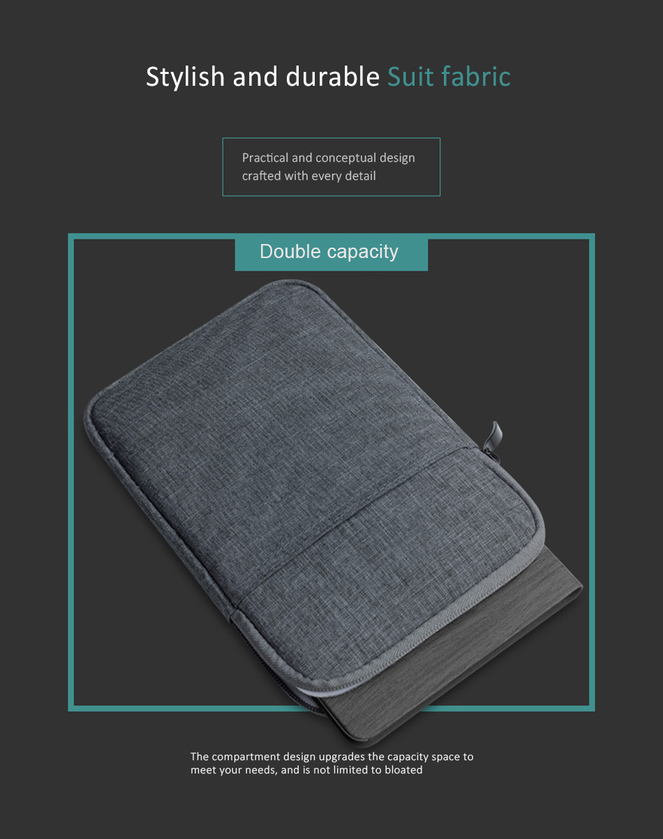 Cotton Shockproof 9.710 inch Tablet Sleeve Bag Cover Funda For New iPad 9.7 Pro9.7 Air 1 2 Protective Pouch Thick Case Shell (6)