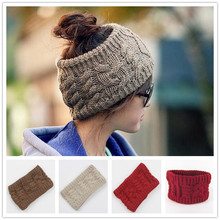 Naturalwell Knitted Turban Headband Women Head Wrap Ear Warmer Wide Hair Band Winter Warm Hair Accessories Stretch Twist WH299(China)