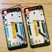 White/black/blue  A single card Dual sim card  LCD DIsplay Touch Screen Digitizer + Frame For HTC desire 626 626G 626W