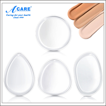 1Pc/2Pcs ACARE Jelly Silisponge Powder Puff Silicone Gel Sponge For Face Liquid Foundation BB Cream Cosmetic Makeup Tool