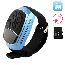 Bluetooth Smart Watch Speaker Inteligente Pulso MP3 Music Player Support Memory Card Smartband Bracelet For iOS Android Xiaomi