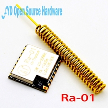 2pcs SX1278 LoRa Spread Spectrum Wireless Module 433MHz Wireless Serial Port UART Interface Ra-01(China)