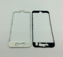 10pcs/lot white/black Lcd & touch screen frame front bezel supporting bracket with hot glue for iPhone 7 4.7 7 plus 5.5