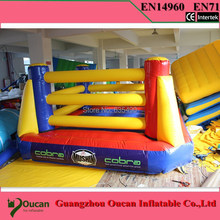 3x3X3meter PVC tarpaulin inflatable boxing ring for sports