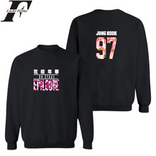 LUCKYFRIDAYF BTS South Korea Women Hoodies Sweatshirts Bangtan Hip Hop Hoodies Women Loose Fashion Casual Kpop Fans Clothes