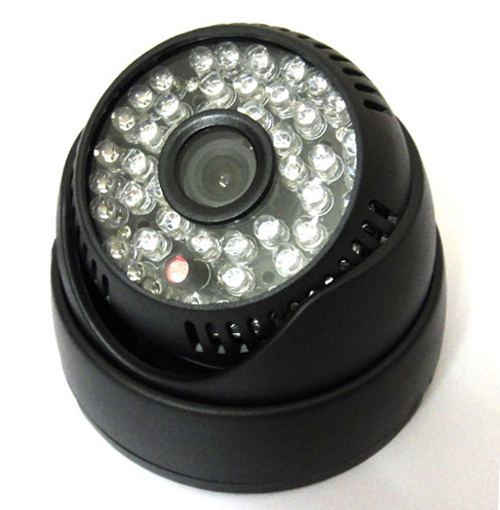 1/3 800TVL 48Leds IR Color Indoor Door CMOS CCTV Security Camera Day and Night, 1080p lens<br><br>Aliexpress
