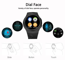 Goldenspike G3 Smart Watch S2 Bluethooth Sim card TF Card siri Heart Rate monitor Smartwatch G3 for samsung gear s2 s3 moto360(China)
