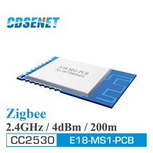 Zigbee 2.4GHz CC2530 Wireless rf Module CDSENET E18-MS1-PCB SPI SMD 2.4 GHz Transmitter and Receiver with Shield PCB Antenna(China)