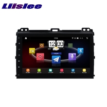 For Toyota Prado / Lexus GX J120 2002 LiisLee Car Multimedia TV DVD GPS Audio Hi-Fi Radio Stereo Original Style Navigation NAVI