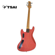 TSAI Electric Guitar Bass with 4 Strings High Quality Music Instrument Solid Wood Basswood Rosewood Maple Popular ship from USA(China)