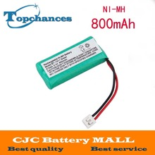 2.4V 800mAh Ni-MH Cordless Phone Battery for Uniden BT-1011 BT-1018 BT1011 BT1018