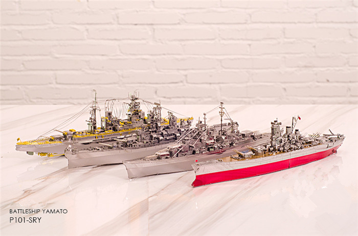 сборная модель линкора Yamato