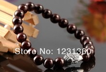 ChingMai Thailand silver jewel Pure Silver Crystal Bracelet 8MM bracelet female models Natural garnet Christmas gifts(China)