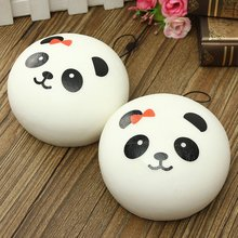 10cm Cute Lovely Kawaii Jumbo Panda Squishy Buns Cell Phone Bag Strap Pendant  Plush Doll Soft Toy Decoration Gift Toy