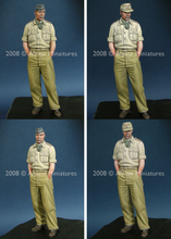 Unpainted Kit 1/ 35 -WW2 German DAK general Historical WWII Figure Resin Kit Free Shipping(China)