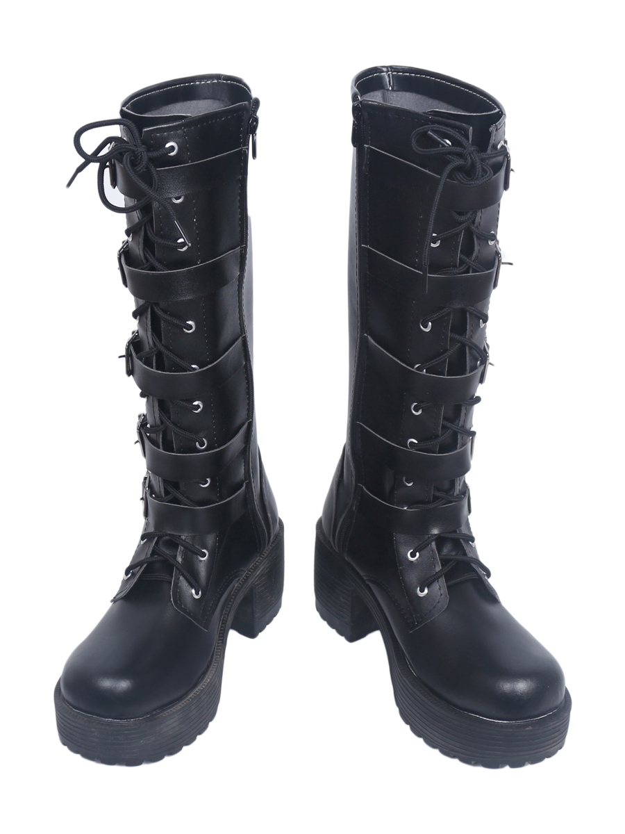 Underworld Blood Wars Female Warrior Selene Cosplay Boots Shoes Custom Made