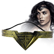 Classic DC Comic Marvel Movie Wonder Woman Headband Diana Prince Superheroine Cosplay Bronze Crown Headwear Headgear Jewelry