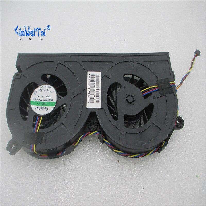 New fan For HP EliteOne 800 G2 800G2EO CPU Fan  837359-001 807920-001 KUC2012DA60 6033B0043301 BAZA1820R2U 6033B0043401<br>