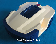 Artistic Car Shape Robot Vacuum Cleaner with Two Independent Lithium Batteries Automatic Recharged Ultra Filter Cleaning Machine(China)