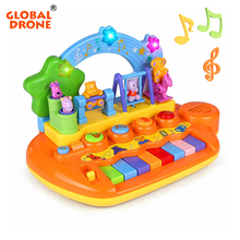Global Drone Piano for Children Educational Toys Musical Piano Musical Toys Musical Instruments for Children Piano Enfant(China)