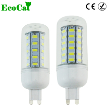 ECO CAT G9 Led lamp 220V Corn Light lampada 5733 Chip 24 36 48 69 72 Leds Bulb Brighter 5730 SMD christmas Lighting(China)