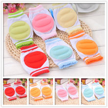 Kids Safety Crawling Elbow Cushion Infants Toddlers Baby Knee Pads Protector Hot Leg Warmers Clothing(China)