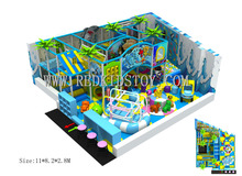 Electronic Children Playground CE Certificated Indoor Play Equipment HZ-5821a(China)