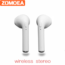 2017 New Stereo Bluetooth Headset Bluetooth Earphone Headphone BT4.1 Wireless Handfree Earbuds Universal for IOS Android Phone(China)