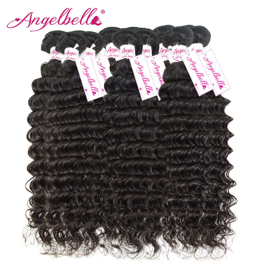 Angelbella Wholesale 10Pcs/lot Brazilian Deep Wave Hairstyles Cheap Brazilian Weave Bundles Deep Wave Brazilian Hair Weave Deals<br><br>Aliexpress