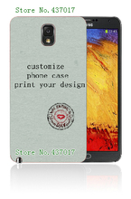 diy customize own design logo photo case hard plastic back cover case for Samsung galaxy note 3 n9008,free shipping