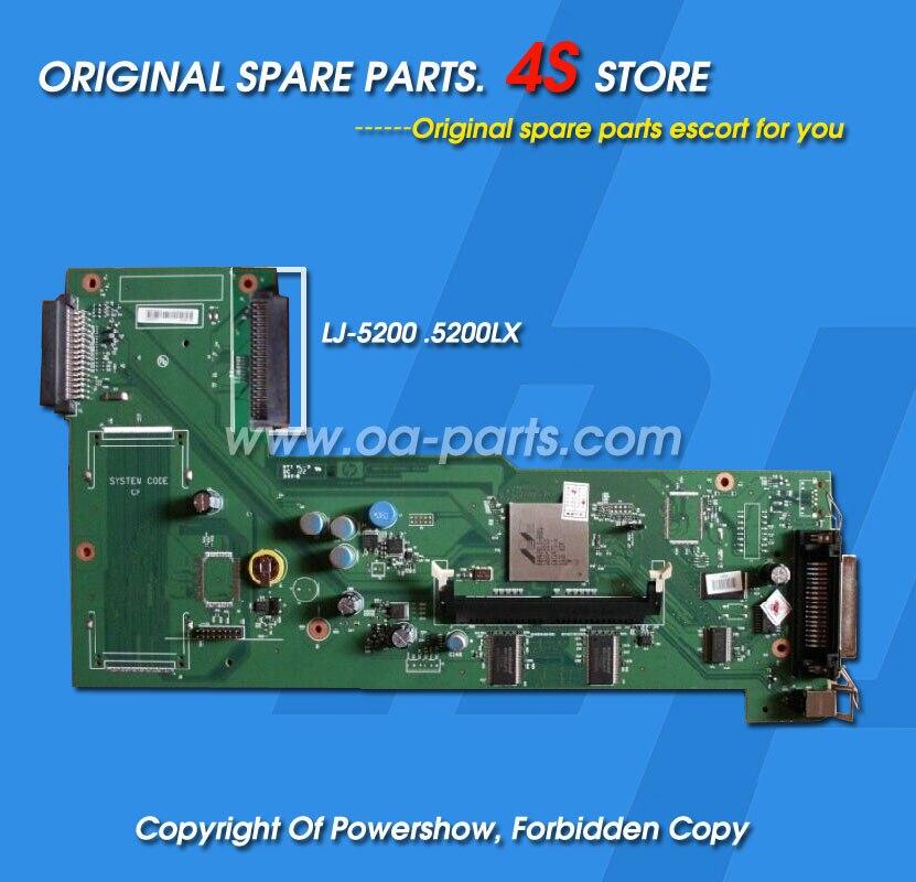 Original New For HP5200LX HP5200 Formatter Board  OEM#: Q6497-67901 Q6497-60001 Q6497-60002 Formatter (main logic) board<br><br>Aliexpress
