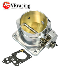 VR RACING - 75MM BILLET CNC THROTTLE BODY FOR 86-93 FORD MUSTANG GT COBRA LX 5.0 VR6958S