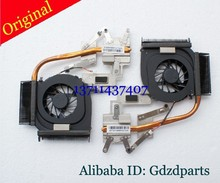 Original New CPU Cooling fan& heatsink integrated radiator KPTUT146M008733A 5V 1.7W 3pin 586571-001 kipo055613r1s