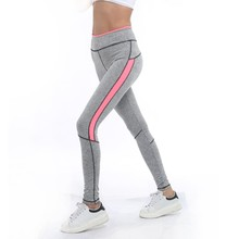 2017 Fitness Legging  woman Leggings soft  Women Lady Activewear  high waist PANT  workout pants free shopping 5 colors